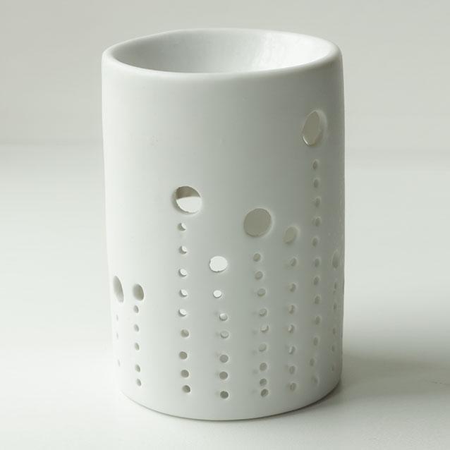 Aromalampe, Duftlampe, Fyrfadslysestage, Keramik