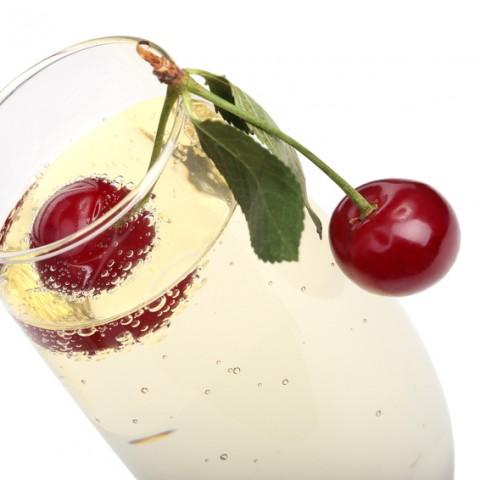 Duftlys med kirsebær, alternativ til duftlys,