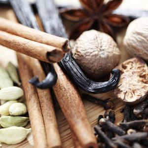 Duftlys vanilje, duftvoks med vanilje og muskat