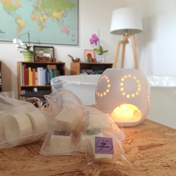 beroligende dufte til hjemmefødsel