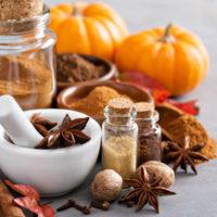 Pumpkin duftlys med græskar og krydderier