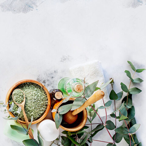 duftlys, eucalyptus, sojalys, beroligende, sojaduftlys