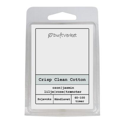 Clean duftlys, duftlys vaskemiddel, duftlys ren duft, clean cotton