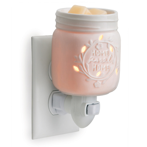Image of Elektrisk duftlampe til stikkontakt// MASON JAR MINI