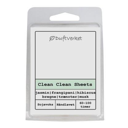 duftlys, duftvoks, skyllemiddel, cleansheets