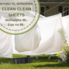månedens duft Clean Clean Sheets