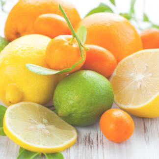 Duftlys med citrus, duftvoks, sojalys, sojavoks, duftlys af soja