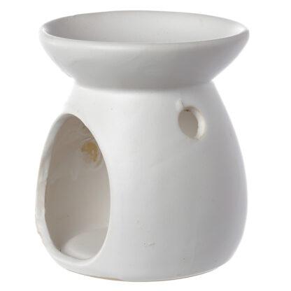 3_hvid, duftlampe, keramik, duftvoks, olielampe, aromalampe, duftlamper, aromalamper